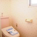 温水洗浄暖房機能付き便座新設(内装)