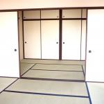 広々6帖二間続きの和室(居間)